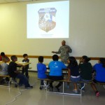 Character education with Sgt Rodriguez