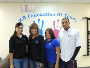 KB Foundation of Texas staff at the Harlingen Outreach Center