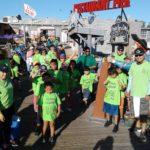 CCMHTF HOC kids at  fishing tournament
